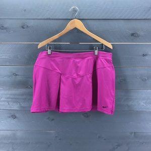 NIKE Running/Tennis Skirt Magenta Size XL